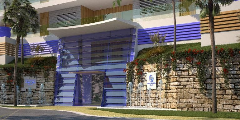 New build luxury properties apartments and penthouses on Costa del Sol - COMMON AREAS-FACADE