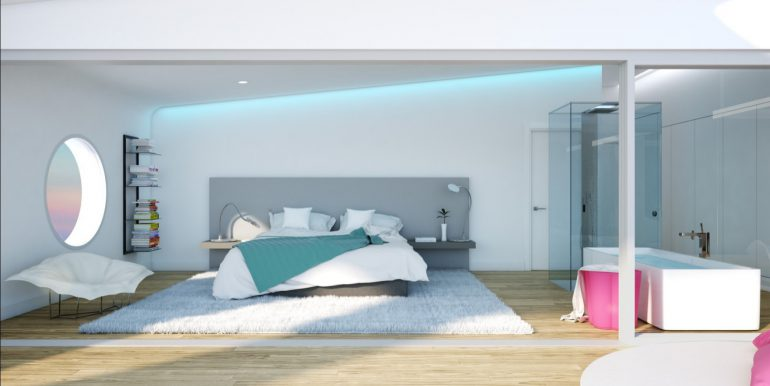 New build luxury properties apartments and penthouses on Costa del Sol, Malaga - PENTHOUSE-BEDROOM-1