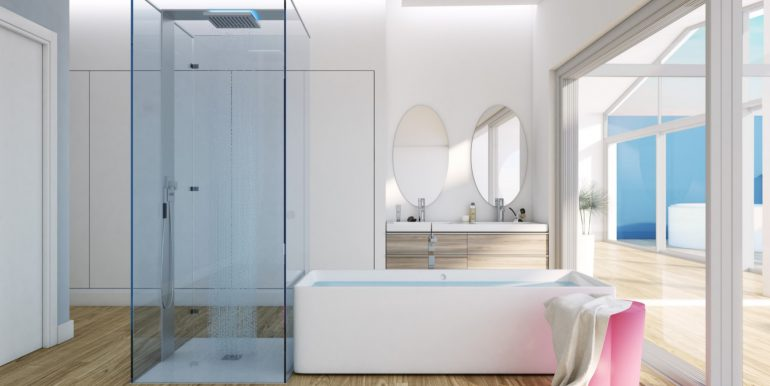 New build luxury properties apartments and penthouses on Costa del Sol, Malaga - PENTHOUSE-BATHROOM