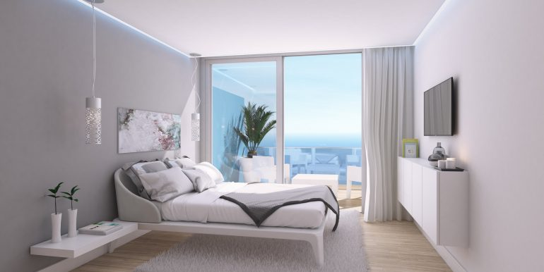 New build luxury properties apartments and penthouses on Costa del Sol, Malaga - APARTMENT-BEDROOM