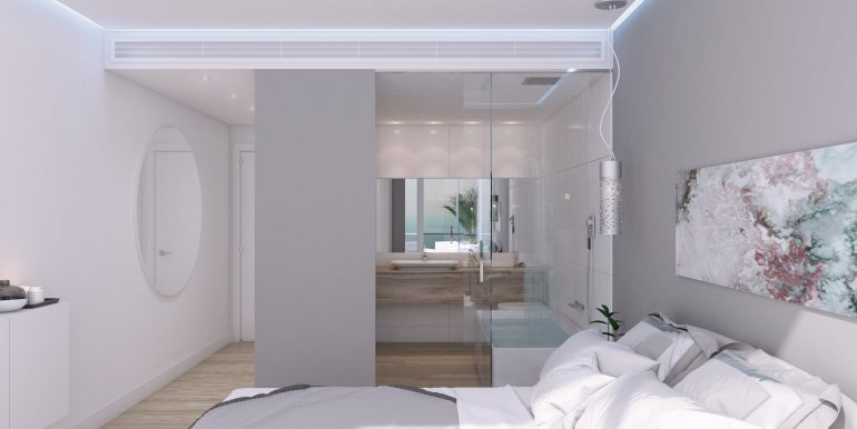 New build luxury properties apartments and penthouses on Costa del Sol, Malaga - APARTMENT-BATHROOM