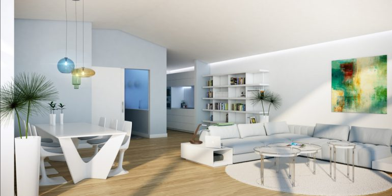 New build luxury properties apartments and penthouses on Costa del Sol, Malaga - PENTHOUSE-LIVING-2