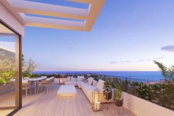 Oak47, beautiful new build modern and contemporary 3 bedroom townhouses by Fuengirola and Mijas Costa, Malaga