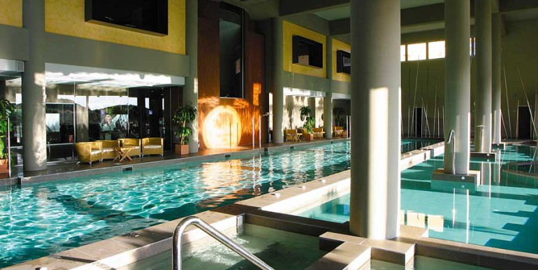 Indoor swimming pools and spa