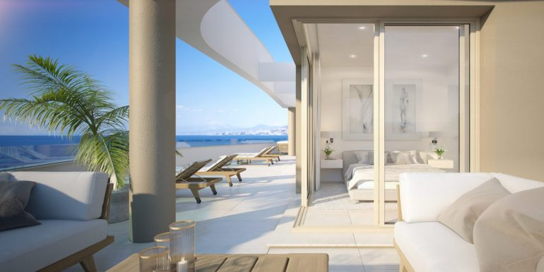 Aria - 3 bedroom new build apartments and penthouses by Fuengirola, Mijas Costa, Costa del Sol