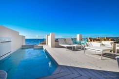 Private terrace with amazing views and private swimming pool